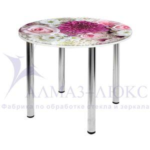 Стол обеденный стеклянный  СО-Д-10-3