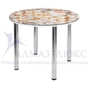 Стол обеденный стеклянный  СО-Д-10-4