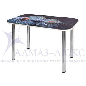 Стол обеденный  стеклянный  СО-Д-02-5