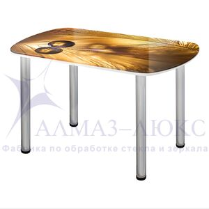 Стол обеденный стеклянный СО-Д-03-7